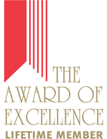 The Award of Excellence - Lifetime Member