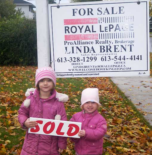 House sold by Linda Brent